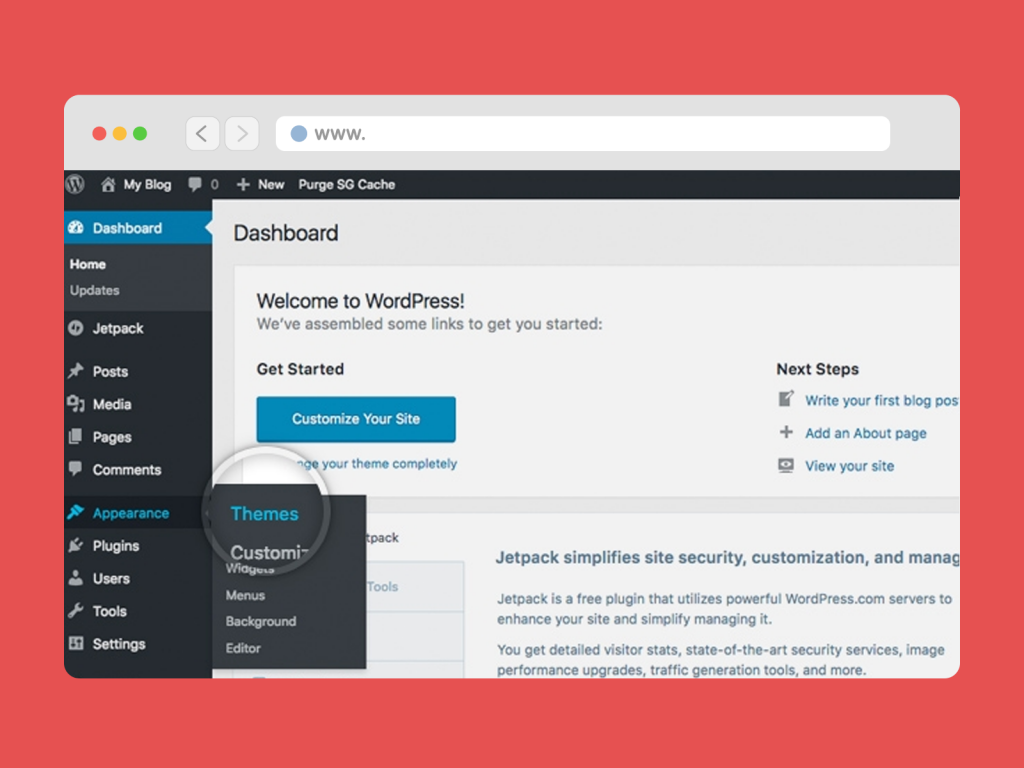 Customize Visualizes, Themes and Site Pages