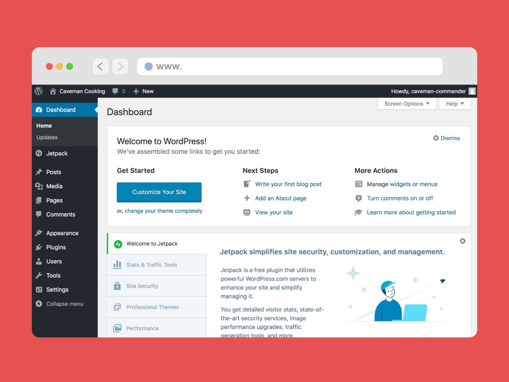 Hands-on Practice with WordPress Dashboard