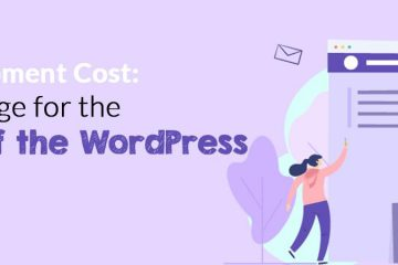 wordpress development cost